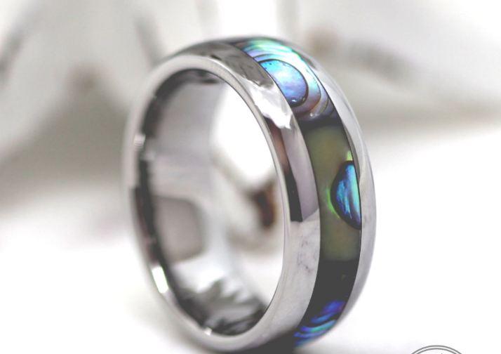Beautiful Tungsten Opal Rings