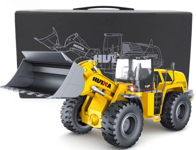 HuinaConstruction Toys' latest 1583 model Remote Control Wheel loader available exclusively on Official company Website
