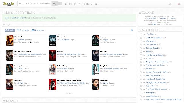 Zooqle (2020) – Biggest Website For Downloading Torrents Files