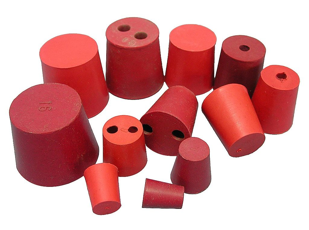 PROFESSIONAL RUBBER STOPPERS FOR YOUR USE