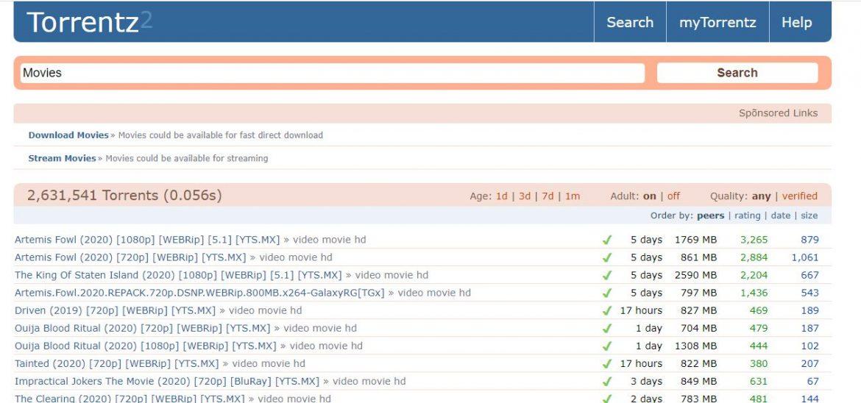 Torrentz2 Proxy List | Working 100% Unblock Torrentz2 Proxies/Mirrors