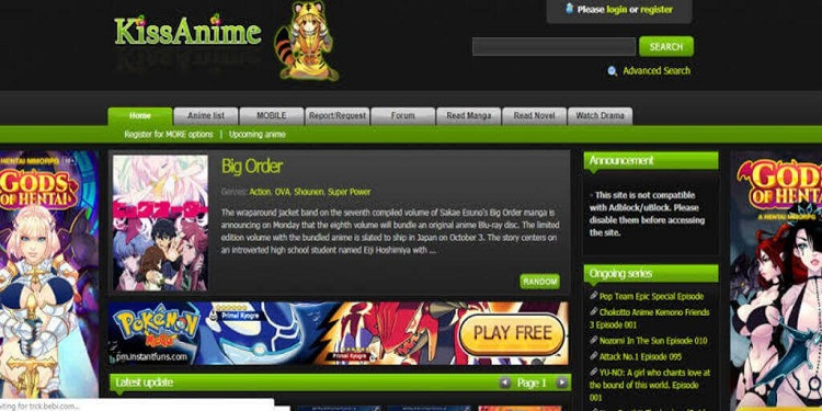 Kissanime – the best kissanime alternatives site for watching anime movies