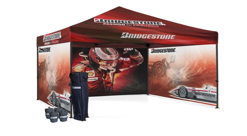 Why A 10×10 Custom Canopy is Perfect for Events and Trade Shows