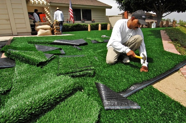 Is Synthetic Grass Suitable for Kids?