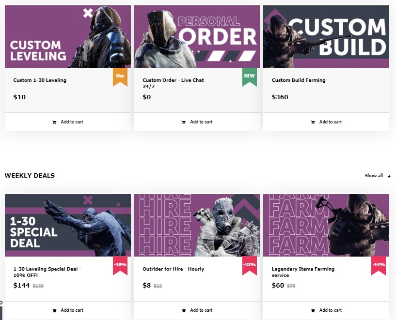 Outriders boosting- Everything to Know when you have your game boost!