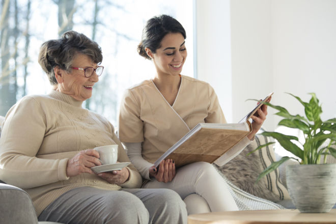 Caring for the Health of an Elderly Person in Private Live in Care