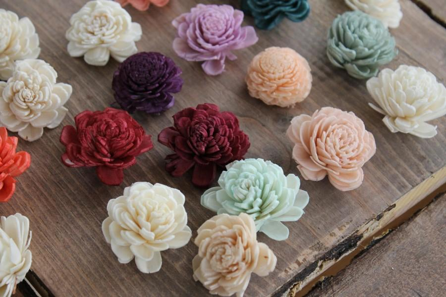 Learn to make sola wood flowers