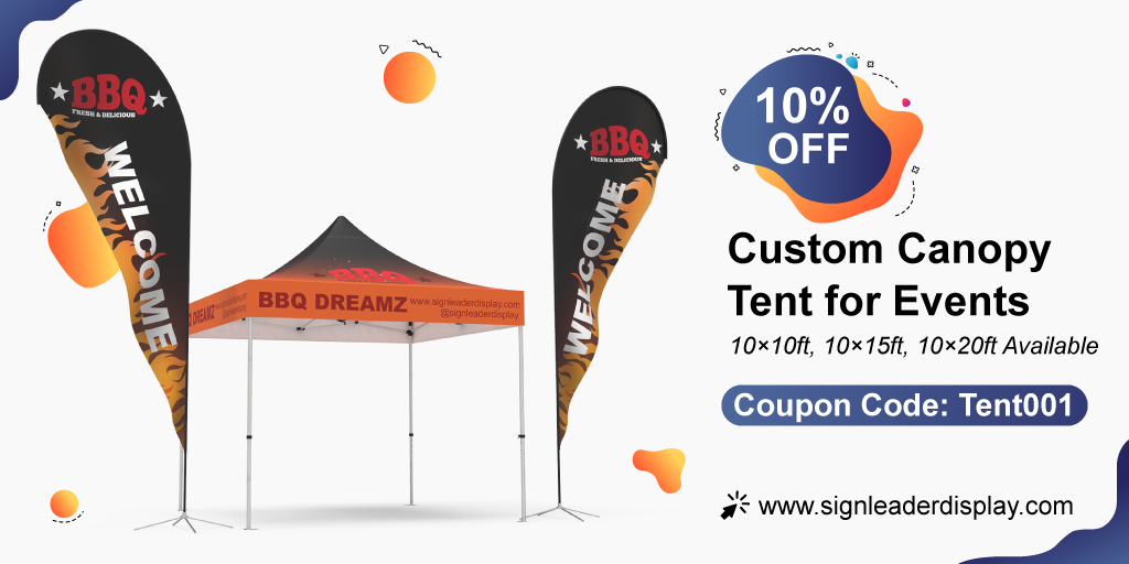 5 Tips For Using a Custom Canopy Tent