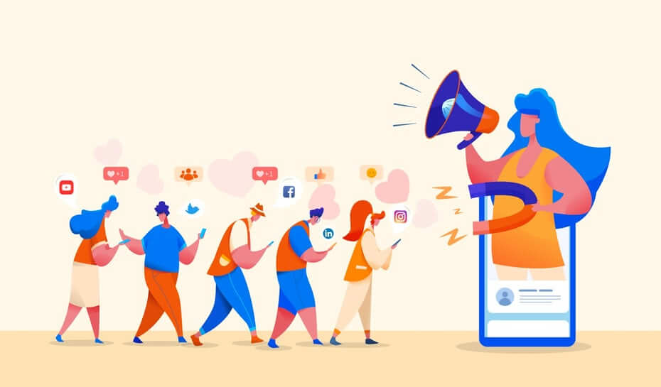 Ways to display your designs on social media
