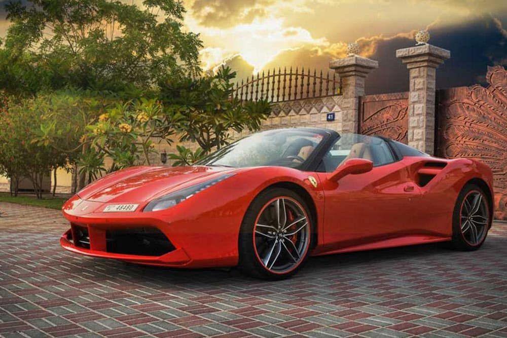 Best rent Ferrari Dubai create more fun with your travel