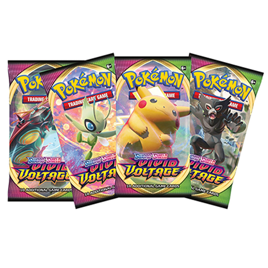 Where you find Vivid Voltage Booster Box Pokemon Card Collection