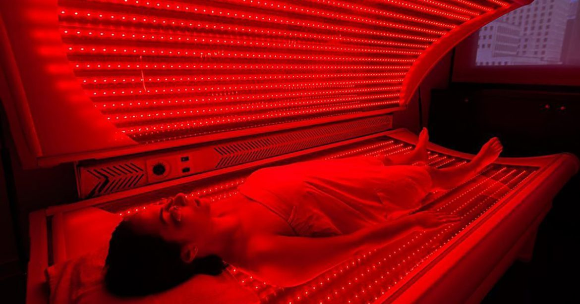 What tools are used in red light therapy to help your overall wellness?
