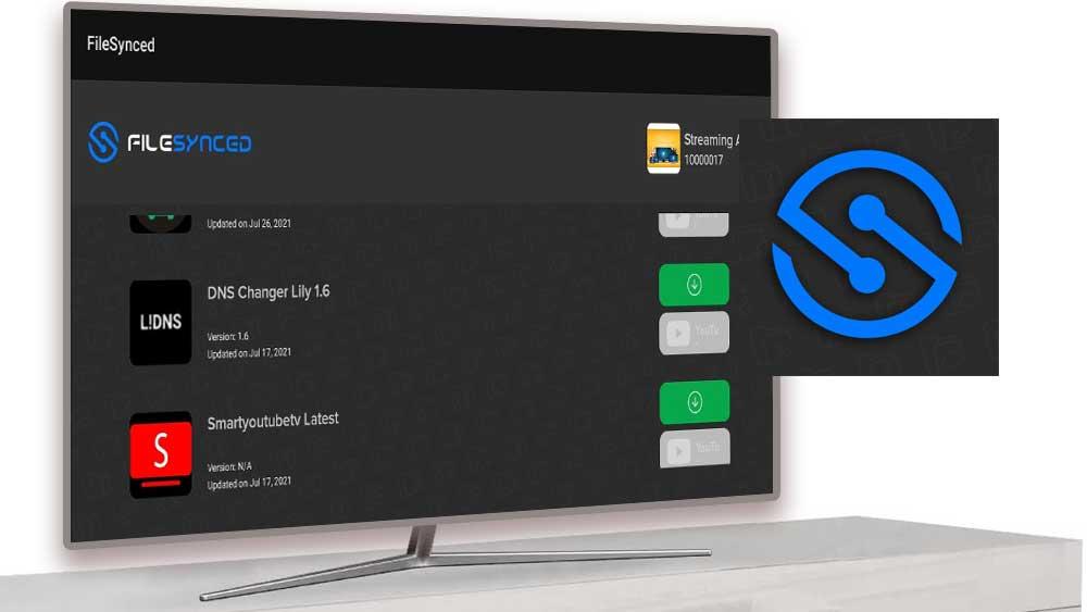 FileSynced TV App Store