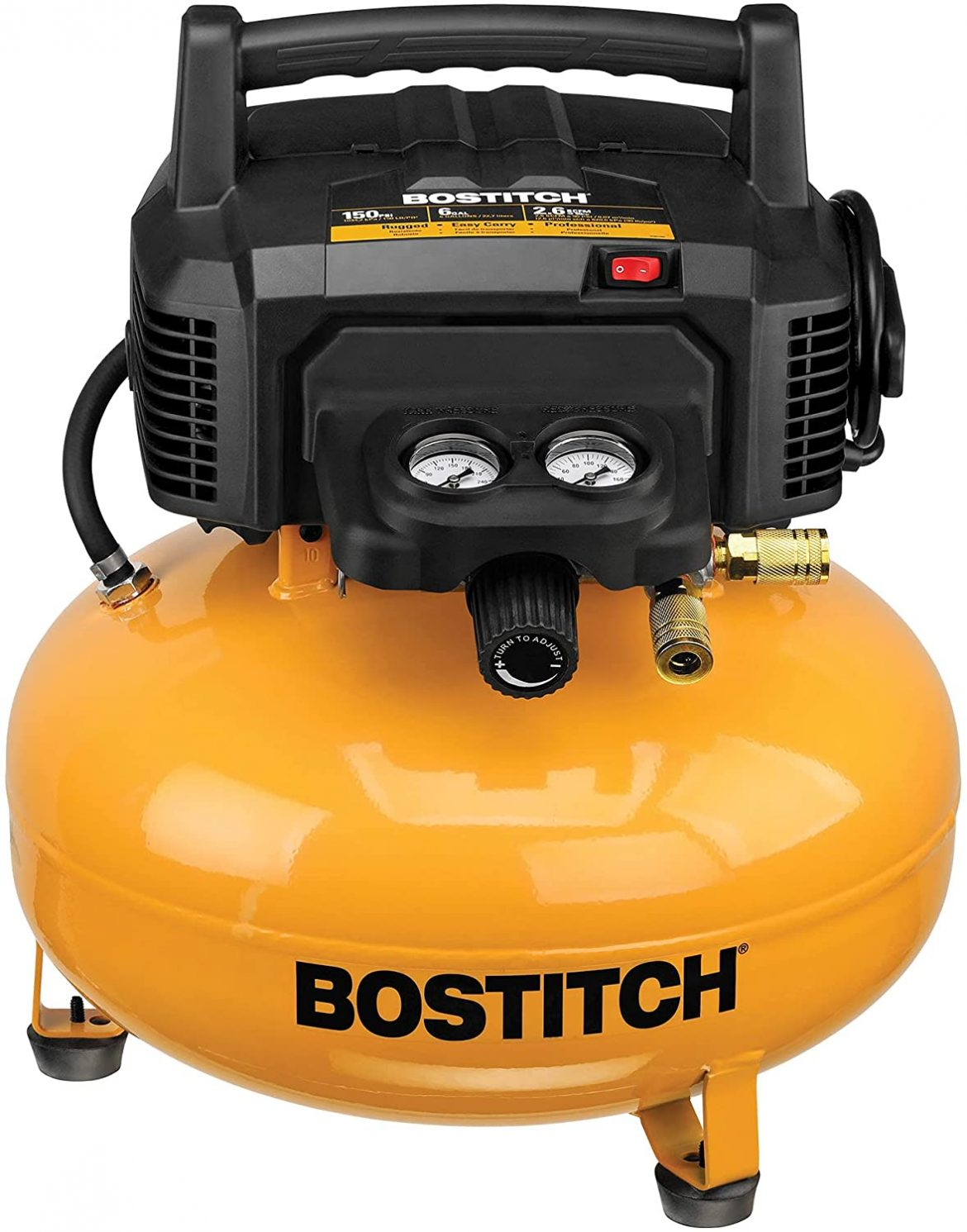 Troubleshooting of the Bostitch pancake air compressor